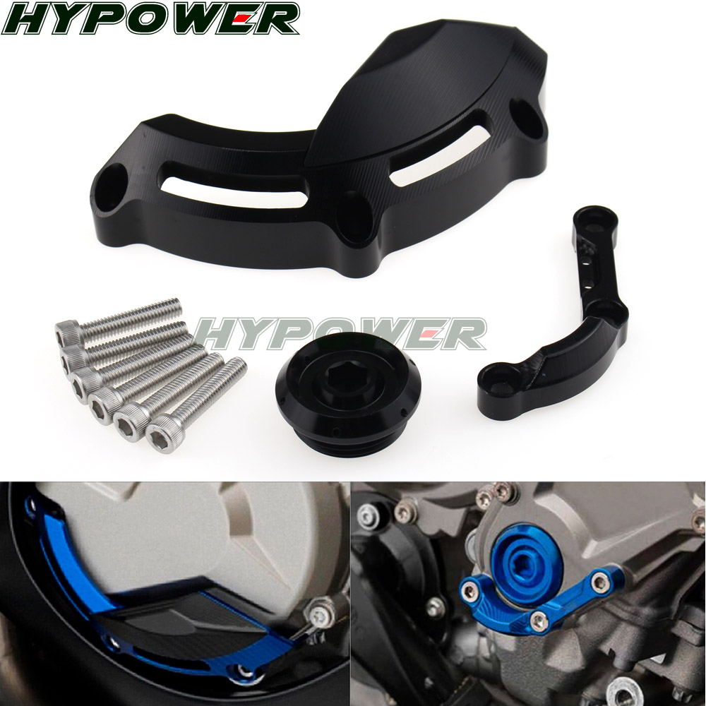 Engine Stator Cover Case Slider Protector For BMW S1000R 14-2019 S1000RR 09-2018 S1000XR 2015-2017 HP4 2012-2014 <font><b>S</b></font> <font><b>1000</b></font> R RR <font><b>XR</b></font> image