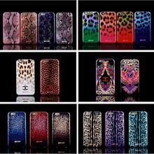For iPhone 5/5s/SE/6/6s/6Plus 6sPlus Luxury Puro Just Cavallis Leopard / Snake Print TPU Case Silicon Cover phone capa celular