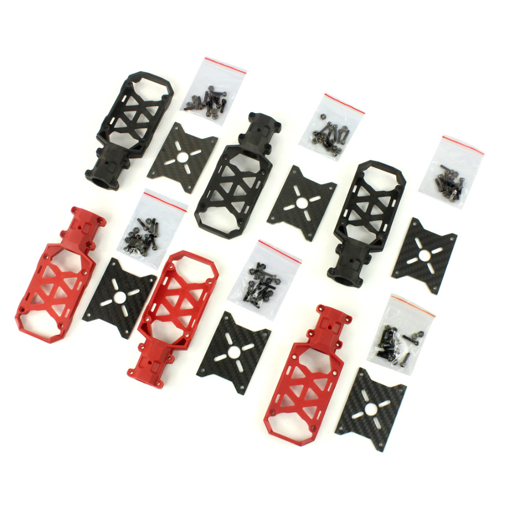 6pcs Dia 16mm Clamp Type Motor Mount Plate Holder As Tarot TL68B26 for 6-axle Aircraft RC Hexacopter DIY Copter Drone