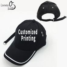 4214e0f28e1 Lanmaocat Long Belt Baseball Cap Custom Design Print Men Women Long Strap  Belt Baseball Cap Adjustable