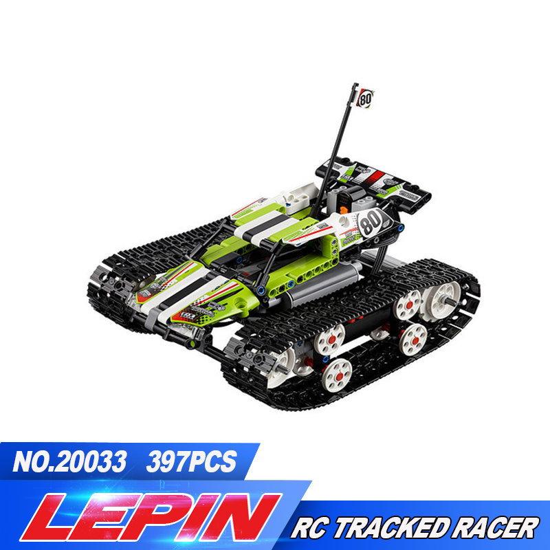 2017 New Lepin 20033 397pcs Technic Series Remote control caterpillar vehicles Building Blocks Bricks Educational Toys with 4206