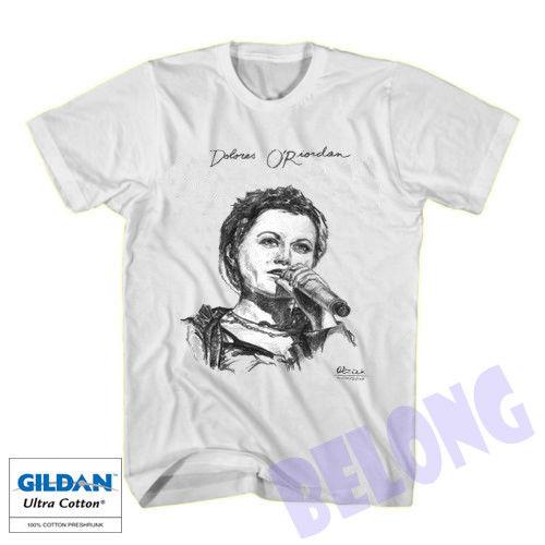 Hot Item New Dolores ORiordan R.I.P 2018 Gildan White T-Shirt Size S-XXL