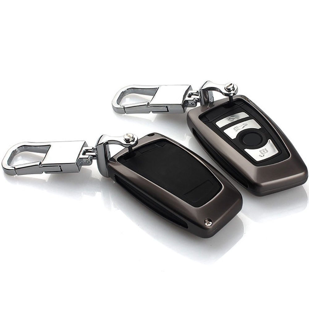 Zinc alloy protective car key case cover shell keychain key holder for bmw 1 series 3