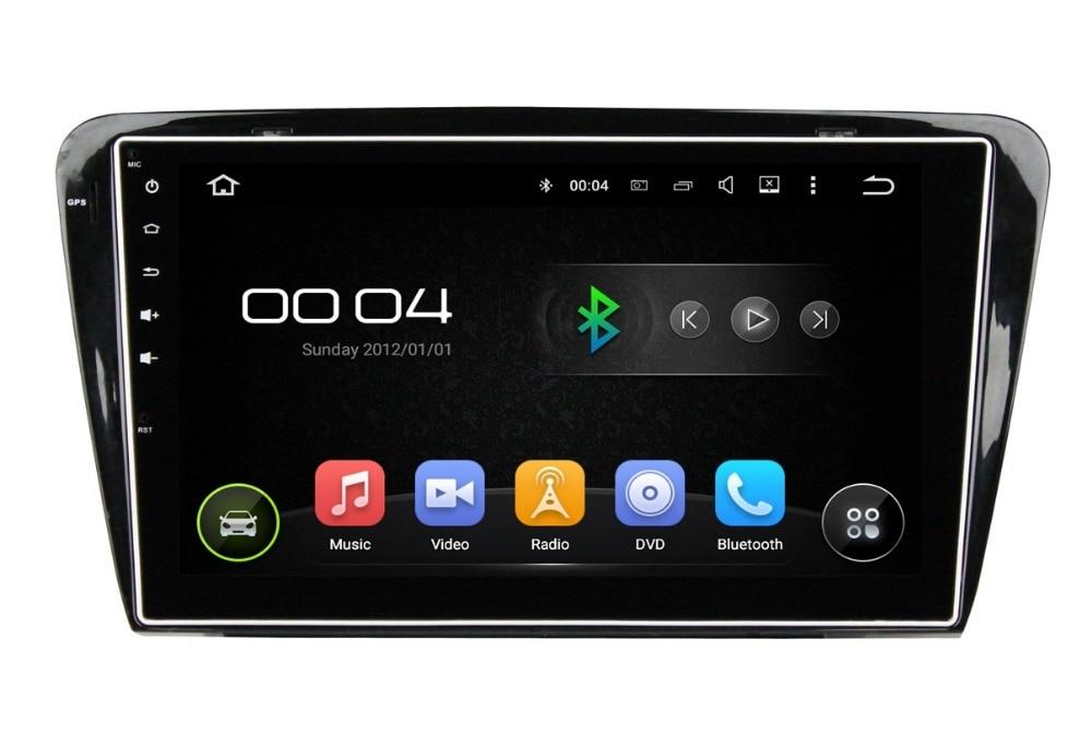 Quad Core 1024*600 10.1″ Android 5.1 Car Radio Player for Skoda Octavia 2014-2016 With GPS Bluetooth Wifi 3G 16GB ROM DVR