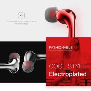 Image 4 - HOCO Metallic In ear Earphone Earbuds Stereo Sport Headphone Noise Isolating with Mic Wired Headset 3.5mm Jack for iphone 5 6S