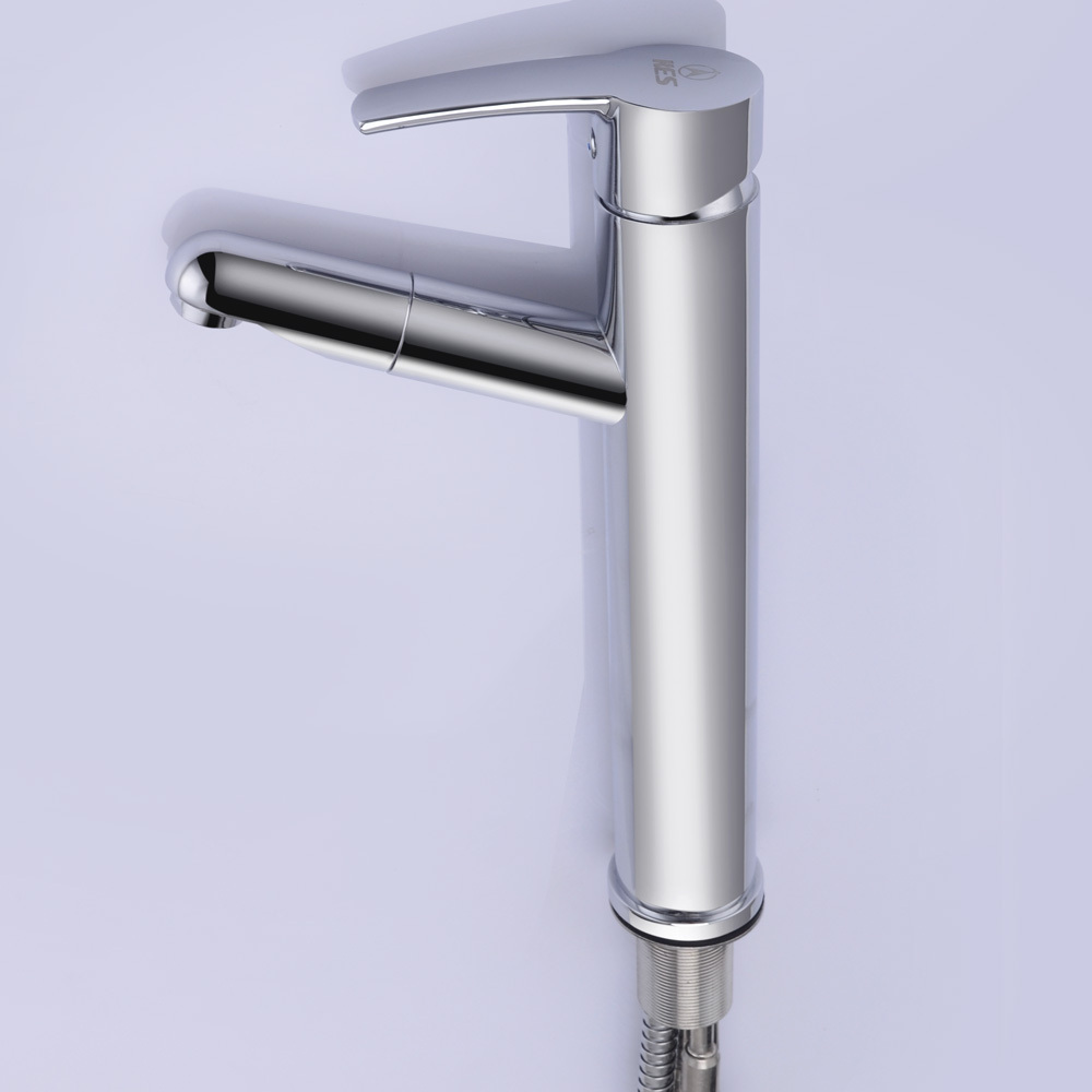 sink handle steel stainless brewst faucet vessel single