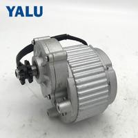 Electric Car Brush DC Motor MY1018 450W 24V DC Motor Double Gear Motor