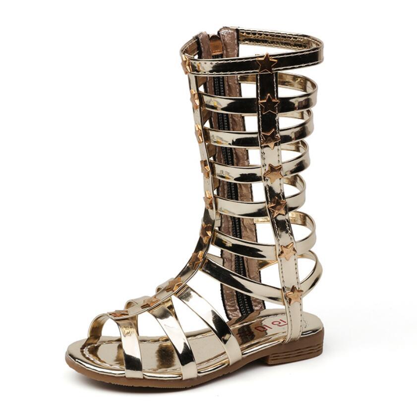 New Children Shoes 2019 girls gladiator