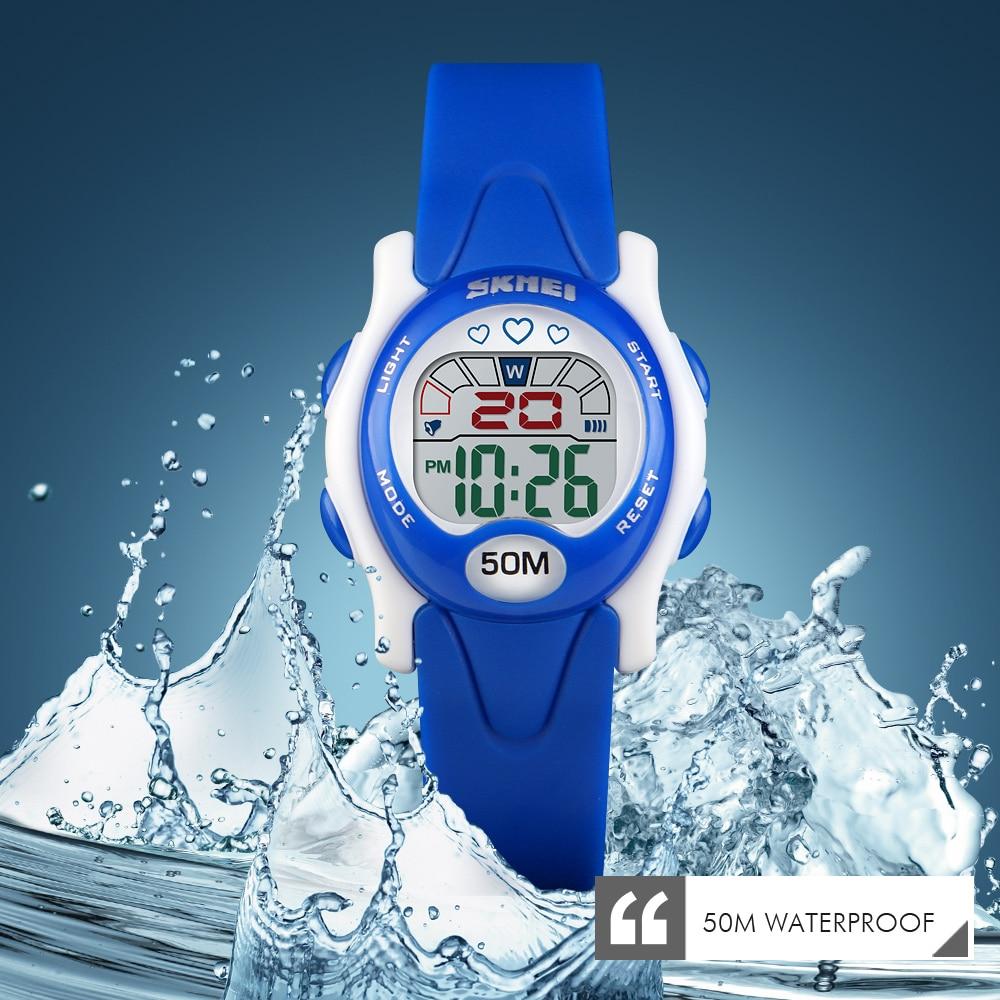 SKMEI Waterproof Sports Children Watches Fashion Alarm Clock Boy Girl Colorful Kids Digital Wrist Watch 1478 Relojes