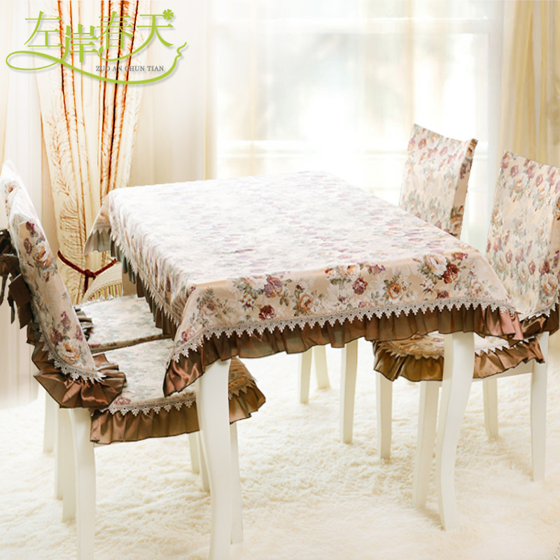 free shipping new arrival dining table fabric table cloth chinese style floral round table cloth for wedding  home and pary