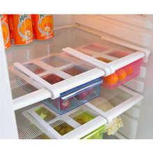 Estante para refrigerador de Nueva inclusión, estante multifuncional de almacenamiento, caja de almacenamiento, recipiente para alimentos de cocina, Herramientas sin contaminación para alimentos