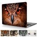 Прекрасные Животные Принты Crystal Clear Чехол Для Mac book Новые Pro 13 Retina A1708 Чехол Laptop Sleeve Для Macbook Pro A1706/A1706 Случае