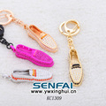 Luxury Rhinestone Keychain Personalized Shoe Keychain Custom Your Own Style Key Ring,Unisex