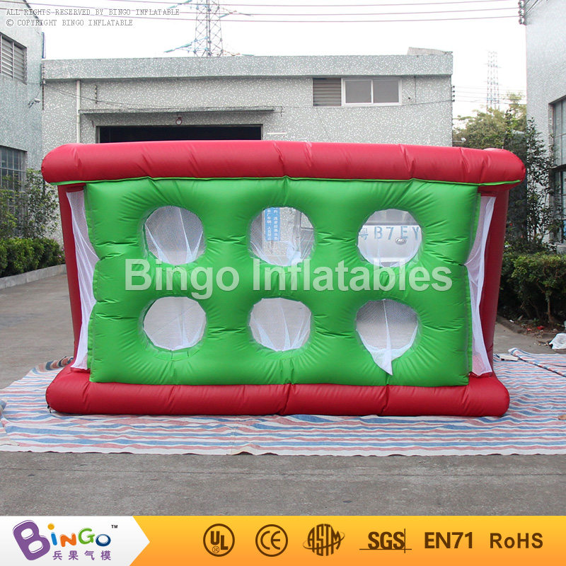 Free Shipping Inflatable sports toy football soccer goal post high quality custom made football games free shipping sealed airtight basketball goal inflatable sports games with free ce pump