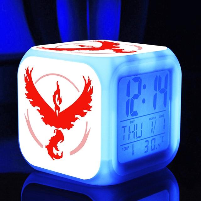 Pokemon LED Clock