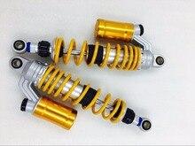 Niversal 310mm 320mm 330mm 340mm 350mm 360mm 370mm amortecimento Ajustável amortecedores de moto para yamaha honde