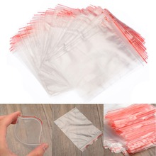 Poly Plastic Resealable 100Pcs