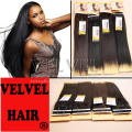 Hot-selling Premium Now Hair Yaki Weave Synthetic Hair Extension Straight Halo Hair Extensions Queen Hair Products VELVEL