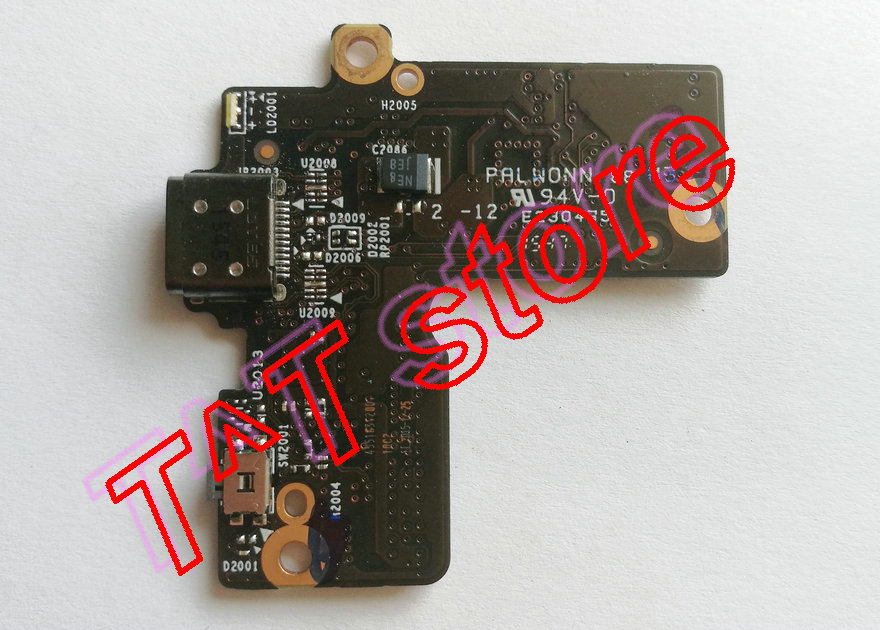 original for YOGA 900S 900S-12ISK USB charger power botton board test good free shipping original laptop t100chi usb charger board t100chi bt docking test good free shipping