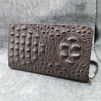 Luxury Brand Men Purse Clutch Bag Male Long Wallets Casual Zipper Coin Purses Alligator Classic Style Card Holder Male Purse
