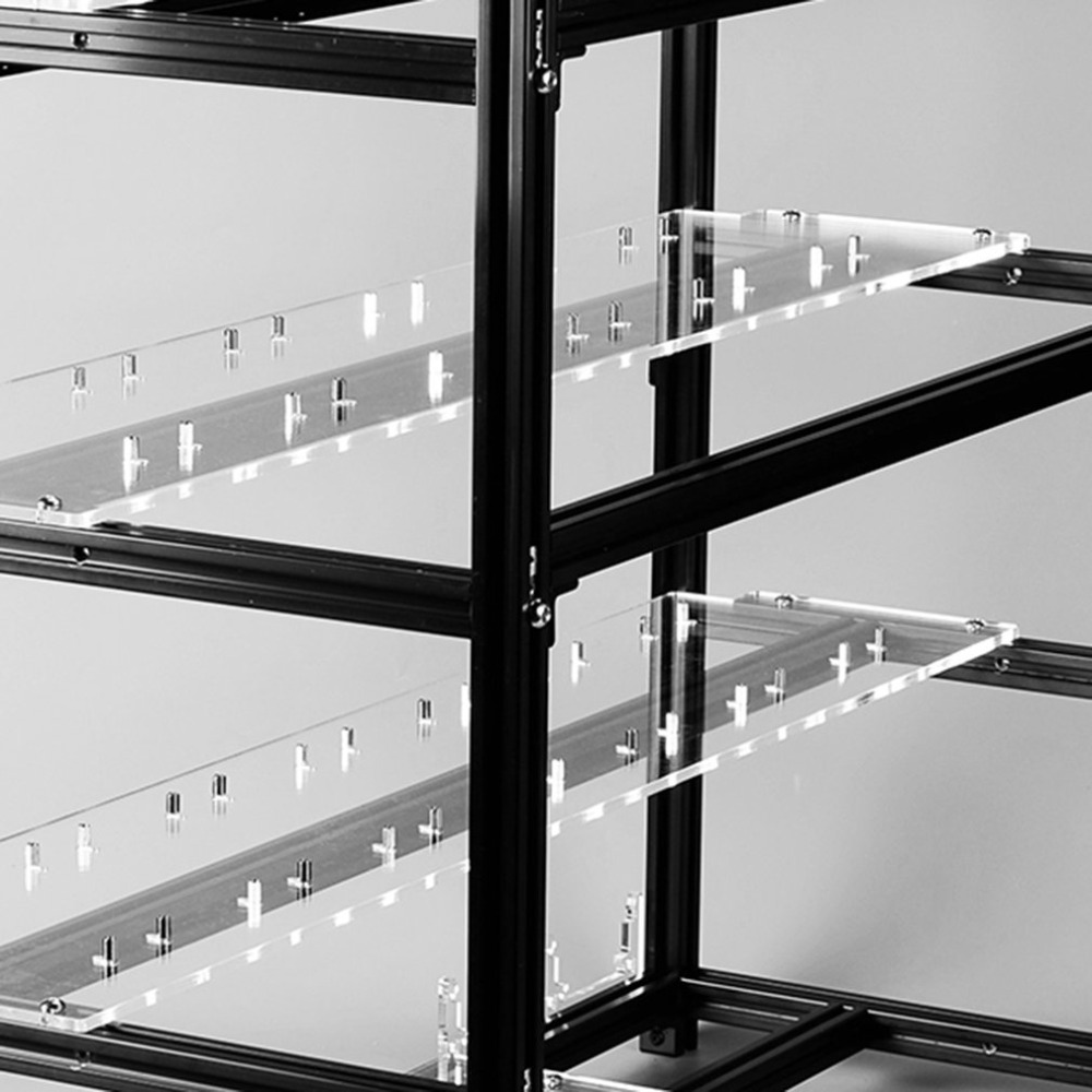 Multifunktionale Wärmeableitung GPU Bergbau Rahmen Fall Stapelbaren ...