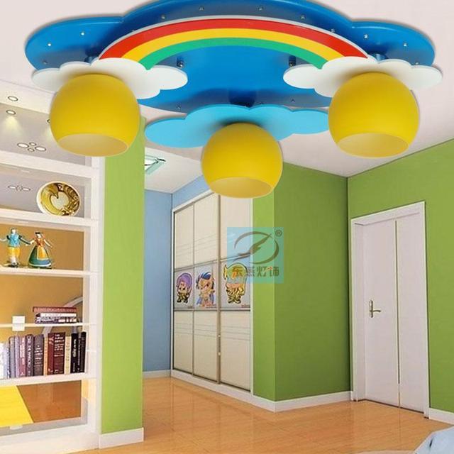 Dong Yan Kinder Led Deckenbeleuchtung Ideen Schlafzimmer Kinderzimmer Baby  Cartoon Regenbogen Lichter