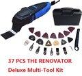 110 В Тип с US plug Renovator Deluxe  набор многофункциональных инструментов  с 37 аксессуарами  чехол для хранения. Осциллирующий многофункциональный ин...
