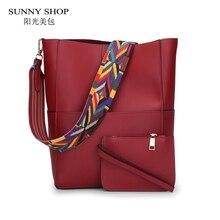Sunny shop herbst neue frauen elegante schultertasche mode frauen messenger bags geldbörsen und handtaschen hohe qualität