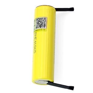 Image 3 - Liitokala batería li lon de 2500mAh, Lii HE4, 18650, 3,7 V, batería recargable de potencia, descarga máxima de 20a + hoja de níquel de DIY