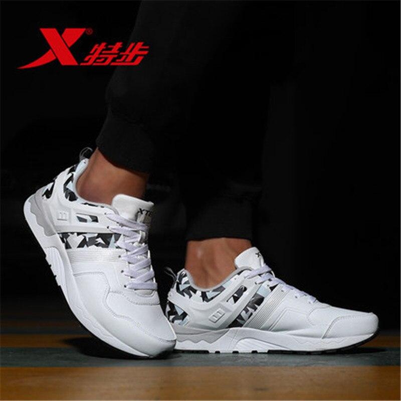 Prix pour XTEP Hommes de cool Camouflage Tige Basse Plat Sport À Roulettes Planche À Roulettes Sneakers Chaussures pour hommes livraison gratuite 983319329022