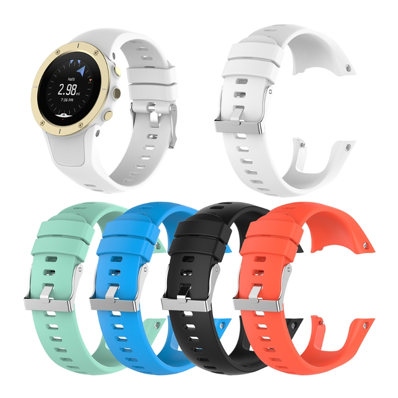 OOTDTY Silicone Replacement Wrist Band Strap For Suunto Spartan Trainer Wrist HR Watch