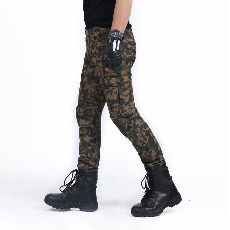 Для Мужчин's мотоцикл брюки для байкеров брюки джинсы с защитный материал SKP-708
