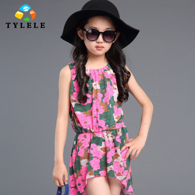 94347e820 3 - 11 ano vestidos de verão para meninas adolescentes Infantil vestido de  festa Roupa Infantil