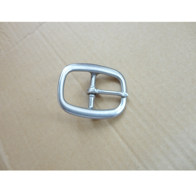 Stainless Steel Pin Buckle Belt Buckle For Bag Horse Halter   Inside Width 30mm W021