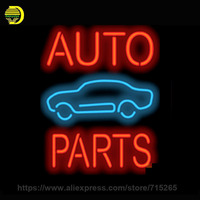 Neon Sign Auto Parts Car Handmade Glass Tube Free Design Neon Bulbs Neon Light Sign Business