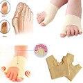 Protetor de pé Dedo Do Pé Cuidados Com Os Pés Pé Hallux Valgo Órteses Palmilhas Sobrepostos Separador dedão do pé Ortopédico um tamanho caber a maioria A4
