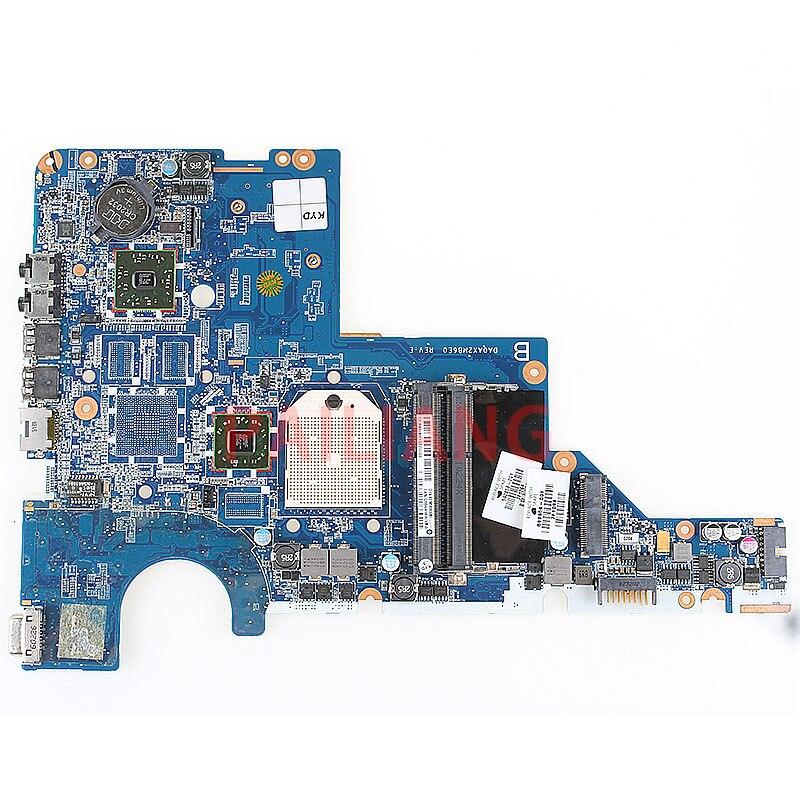 Placa-mãe do portátil para hp cq42 cq62 g42 g62 cq56 g56 computador mainboard 592808-001 da0xa2mb6e0 completo tesed ddr3