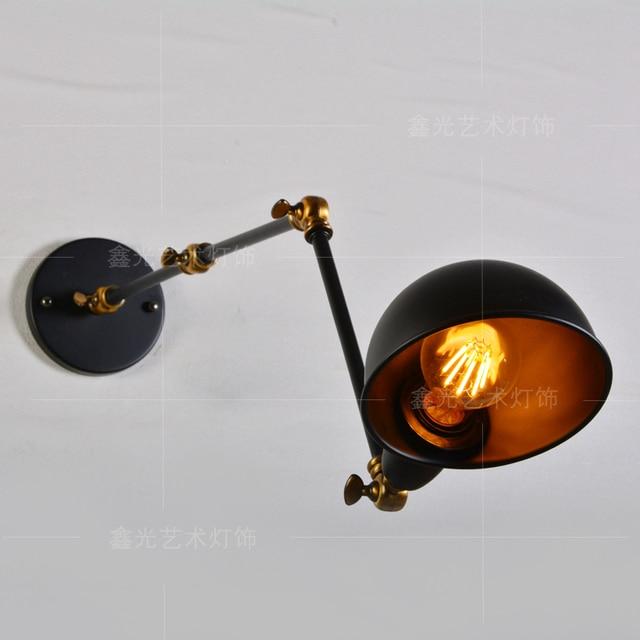 Vintage Led Wandleuchte Amerikanischen Loft Industrielle wandleuchte  Badezimmer wandleuchte lampen Esszimmer Restaurant Moderne wandbeleuchtung