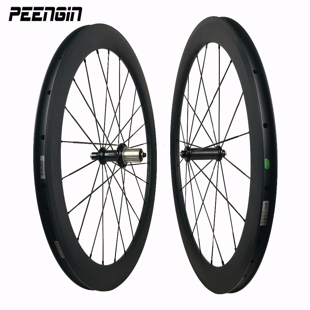 ODM 650C small bicycle carbon tubular wheels clincher wheelsets for road bike racing/training ride with bearing hubs fast speed chord bearing capacity in long span tubular trusses