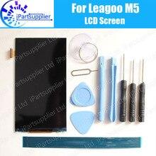 Leagoo M5 LCD Display 100% Original Neue Geprüft Hohe Qualität Ersatz Lcd-bildschirm Für Leagoo M5 + werkzeuge + klebstoff