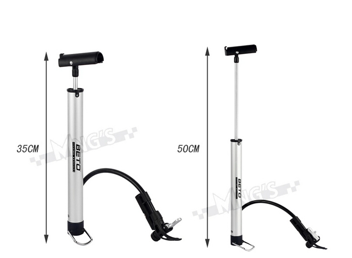 Beto Bicycle Pump Aluminium Alloy Mini Portable Cycling Bike Tire Inflator Air Bracket - Sunny feeling store
