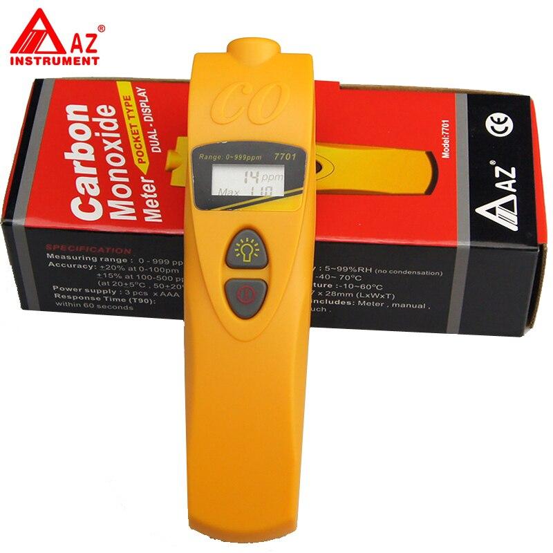 AZ-7701 Pocket Carbon Monoxide CO Detector Tester вешала hotata 7701 2 4