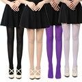 8 Colores Mujeres Sexy Pantyhose de Las Mujeres de Primavera/Otoño/Invierno Medias de Nylon de Patas Gruesas Medias Opacas Pantyhose Inconsútil caliente