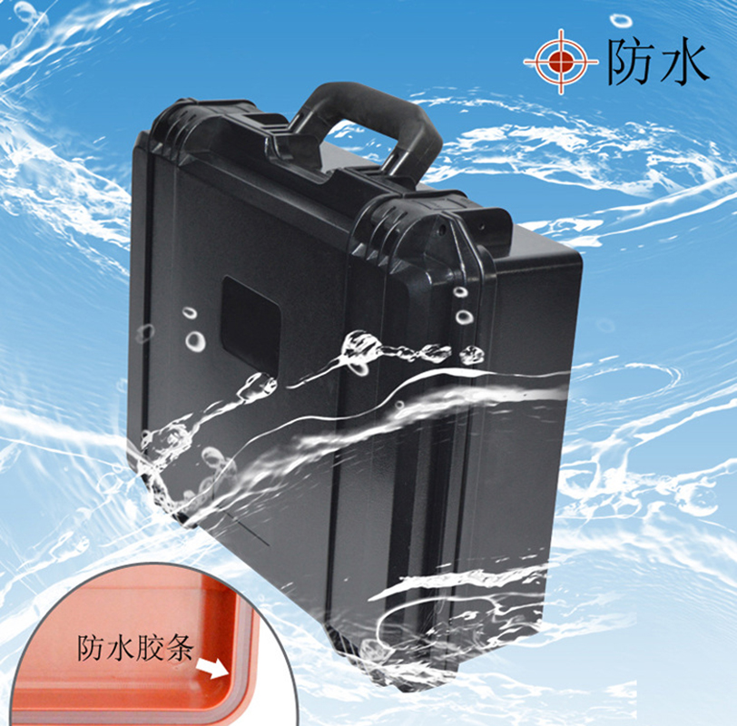 IP67 Waterproof Hard Plastic Tool Case Tool Box For Microscope Equipment