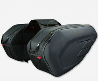 One Set SA212 Waterproof Motorcycle SAddle Bags Moto Riding Helmet Bag Side Bag Tail LUggage Suitcase with Rain Cover