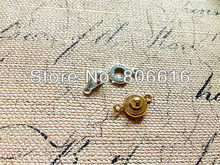 8MM 200Pcs Silver & Gold Tone Jewelry Clasps Hooks For Necklace & Bracelet Jewelry Findings