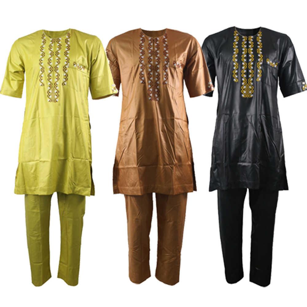 2019 UAE มาเลเซียเย็บปักถักร้อย Kaftan ผู้ชาย jubba thobe อาหรับเสื้อผ้าผู้ชาย dishdasha อิสลามเสื้อผ้าผู้ชาย jilbab turban djellaba Man