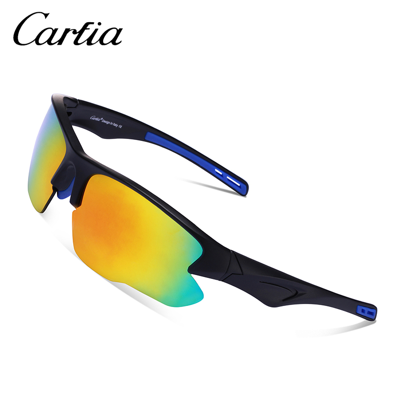 b36a68ba4b Carfia Polarized Sunglasses Road Running Sunglasses Fashion Sports Goggles Sun  Glasses TR90 Frame 100% UV400 Protection CA046-in Sunglasses from Apparel  ...