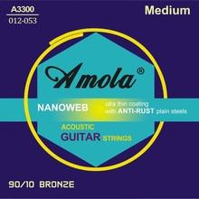 Besplatna dostava Elixir 11052 Nanoweb 012-053 Akustična gitara gitara dijelovi gitare na veliko