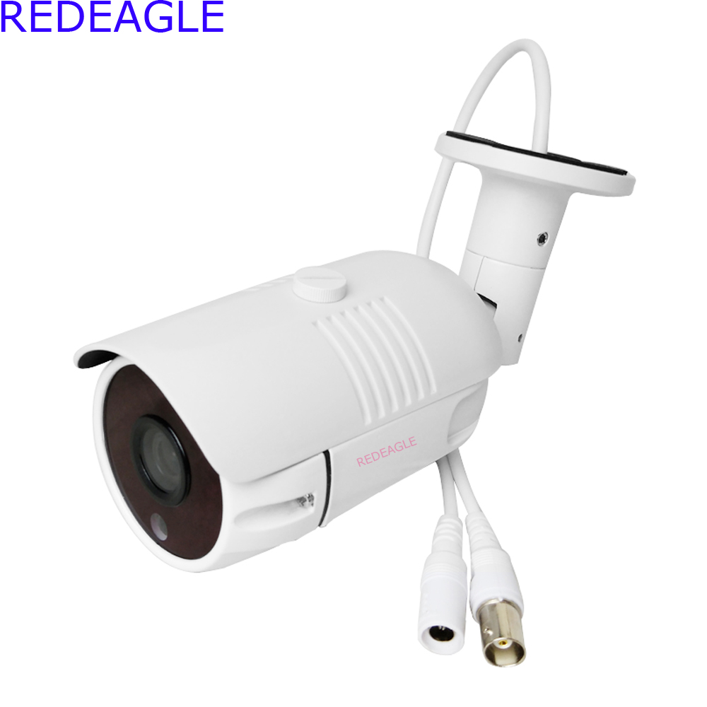 REDEAGLE 2MP Sony IMX323 Outdoor Waterproof 1080P AHD CCTV Camera 36 IR-Cut Filter Bullet Video Surveillance Security Camera smar outdoor bullet ip camera sony imx323 sensor surveillance camera 30 ir led infrared night vision cctv camera waterproof